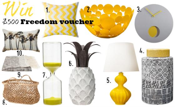 Freedom Furniture Spring 2013