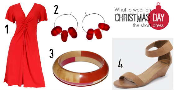 What to wear Christmas Day - the short dress