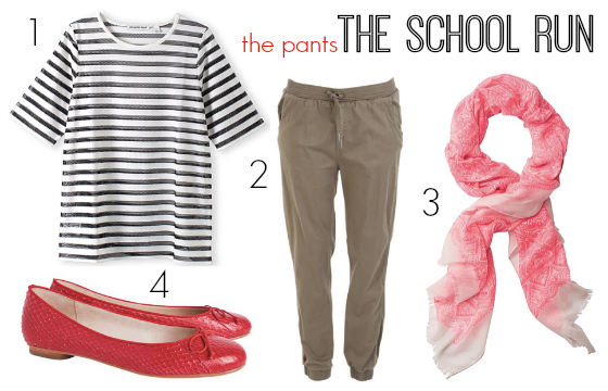What to wear on the school run the pants