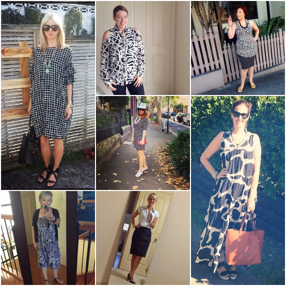 Everyday style outfits of the week - monochrome