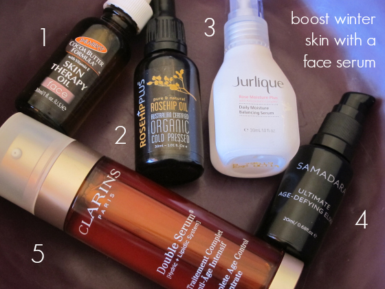 boost winter skin with a face serum