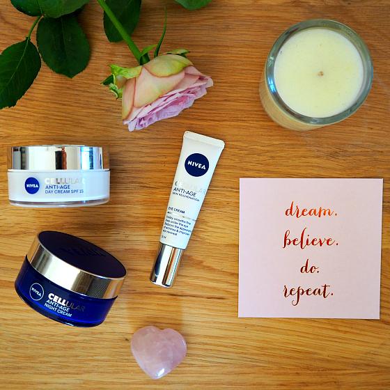 NIVEA CELLular Anti-Age Day Cream SPF 15 | Night Cream | Eye Cream