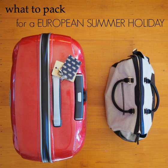 what to wear - Tops - European summer holiday