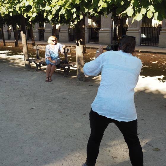 Carla Coulson photoshoot Paris France