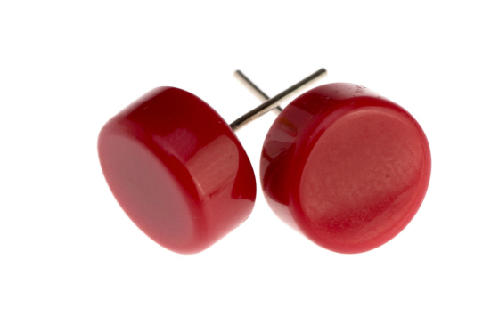 Ruby Olive resin earrings - Styling You Shop gift with purchase
