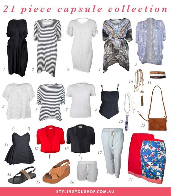 Summer 2015 Styling You Shop | 21 pieces | 28 different party and holiday ooks