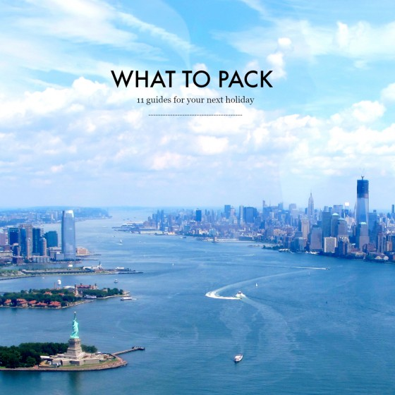 What to pack | 11 guides for your next holiday