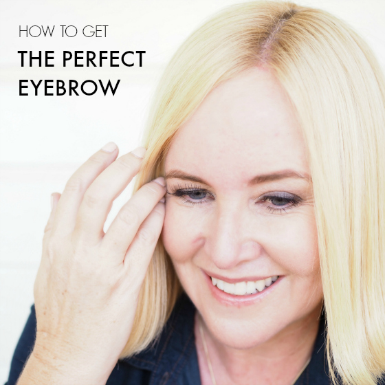How to get the perfect eyebrow