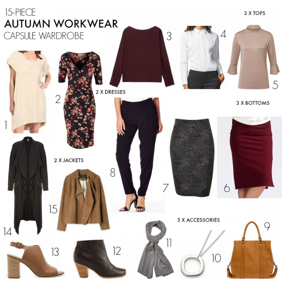 Autumn workwear capsule wardrobe | Styling You 2016