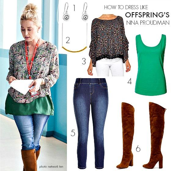 IG How to dress like Offspring's Nina Proudman | Season 6 Episode 6