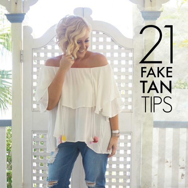 21 fake tan tips   Styling You