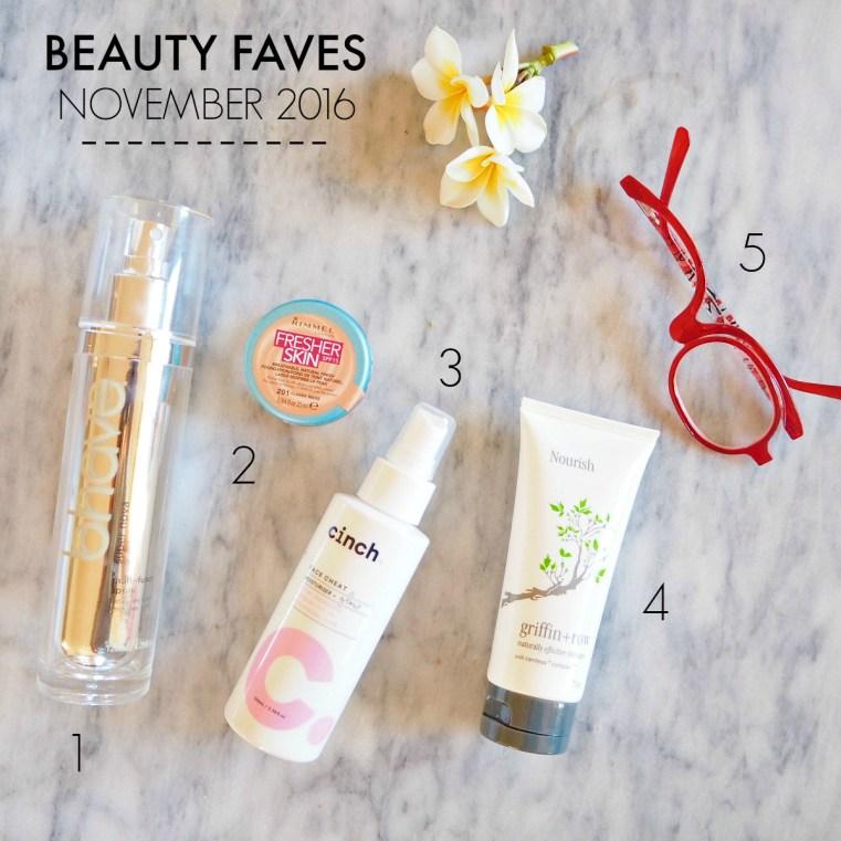 Beauty Favourites November 2016
