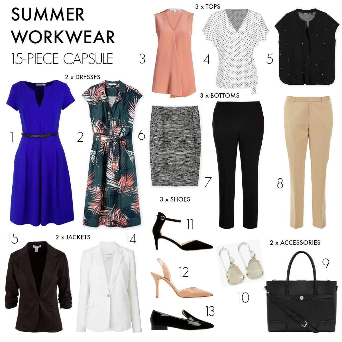 how to build a capsule wardrobe for work
