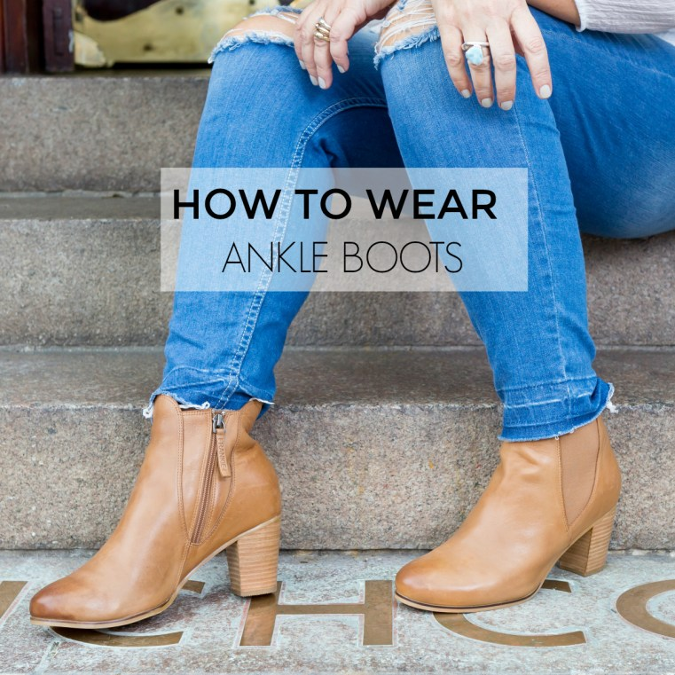 How to wear ankle boots six different ways | Styling You