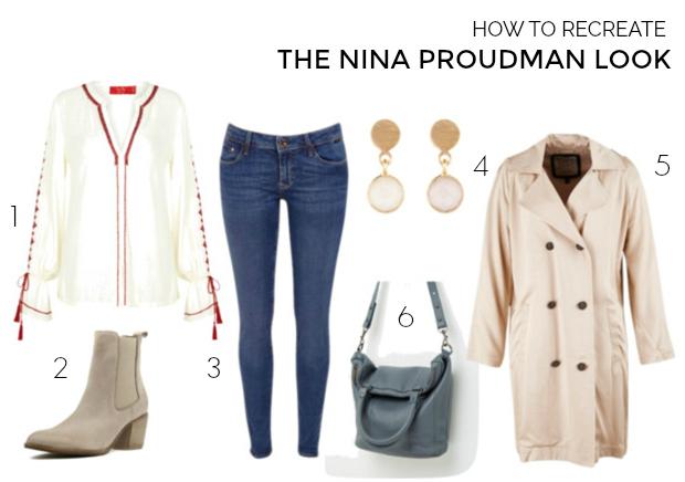 How to recreate the Nina Proudman look Season 7 Episode 5