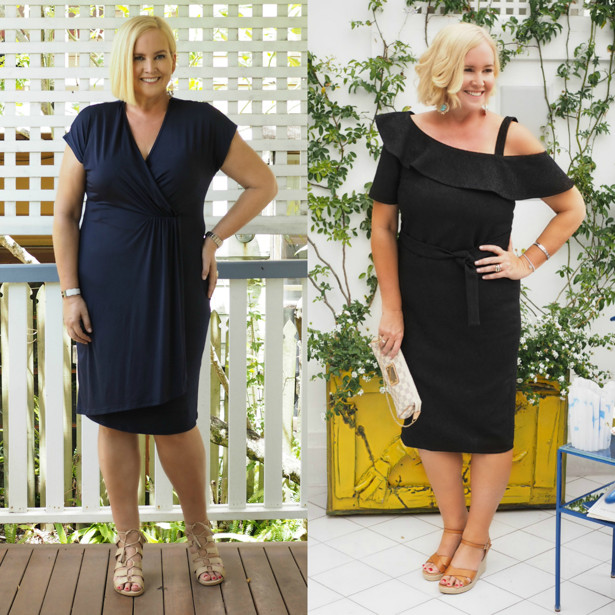 How to make your wardrobe work for you while losing weight Before and after  Nikki Parkinson Styling You weight loss   How to make your  wardrobe