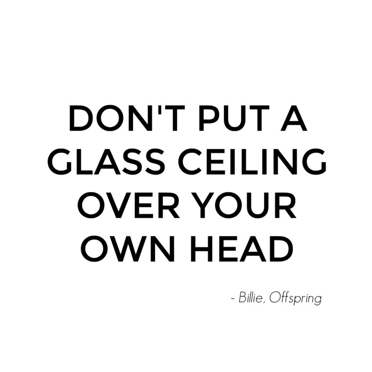 Don't put a glass ceiling over your own head - Billie Proudman - Offspring Season 7 Episode 6