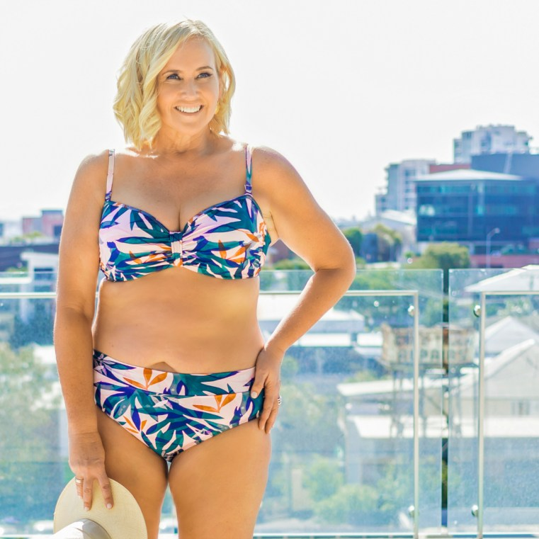 Lilly & Lime bikini   swimsuit solution for D-cup and up   Nikki Parkinson/Styling You. Photo by Sarah Keayes/The Photo Pitch