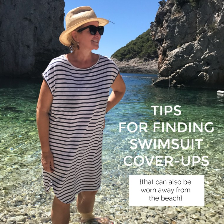 Tips for finding swimsuit cover-ups that can be worn away from the beach
