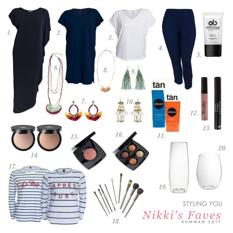 Styling You Shop | Nikki's Faves | Summer 2017