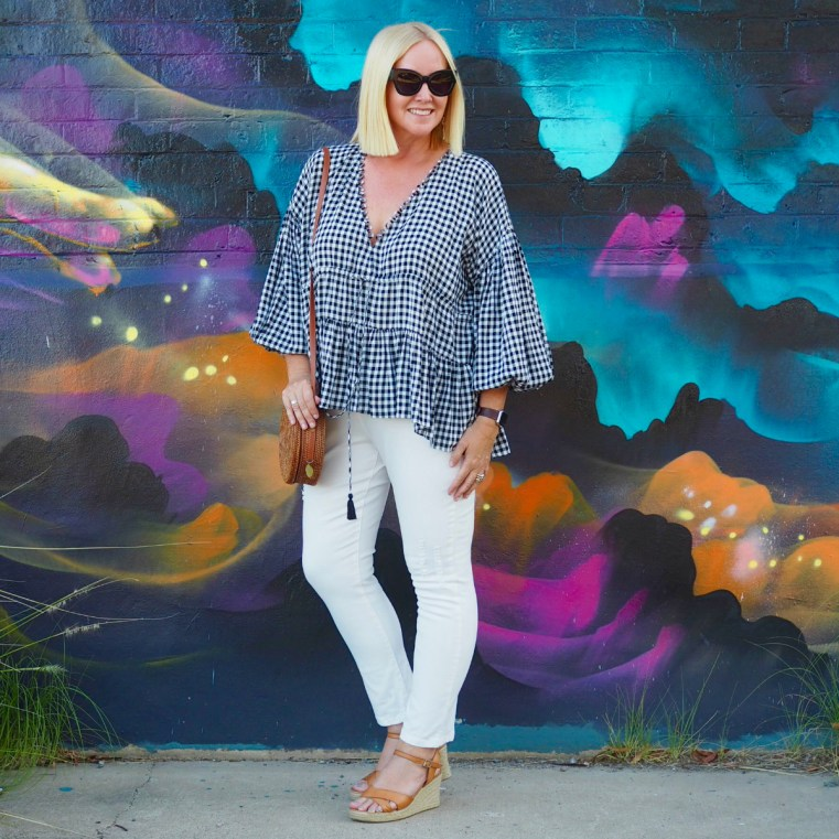 Frankie Savage Bohemian Decor: Gaga For Black And White Checks? Here's How To Style Gingham