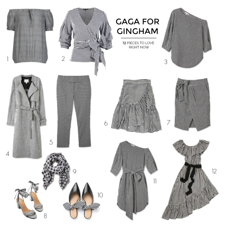 gaga for gingham | 12 pieces to love right now | Styling You