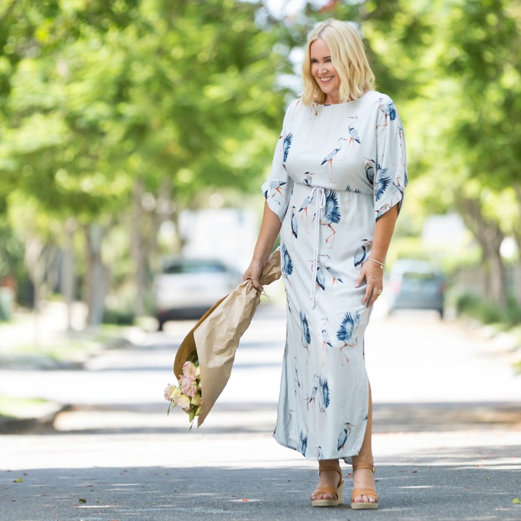 That Bird Label maxi dress | Birdsnest | 10 tips to help transition your wardrobe from summer to autumn | Nikki Parkinson of Styling You. Photo by Sarah Keayes/The Photo Pitch
