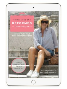 Confessions of a Reformed Over-Packer | 10-step packing guide for any destination | Styling You | Nikki Parkinson