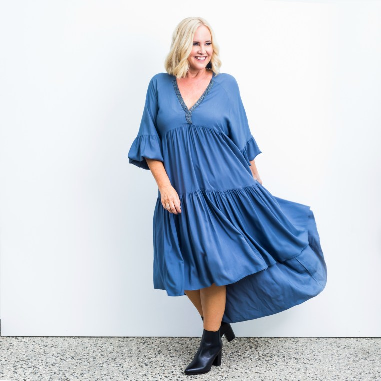 Hunt + Kelly dress | How much do you really spend on clothes each year?