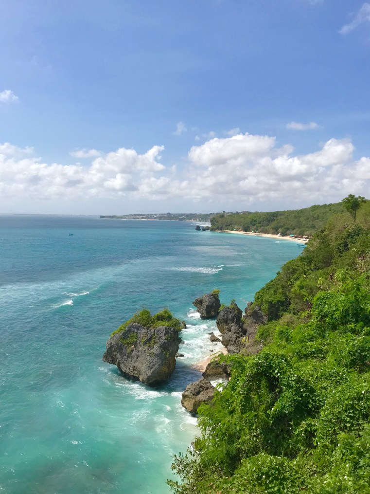 Padang Padang Beach from Ulu Cliffhouse | 5 reasons to stay and play in Uluwatu on your next holiday in Bali