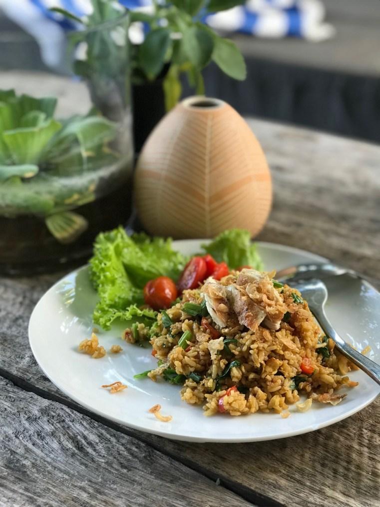 Nasi goreng by Tia   Fella Villas Canggu