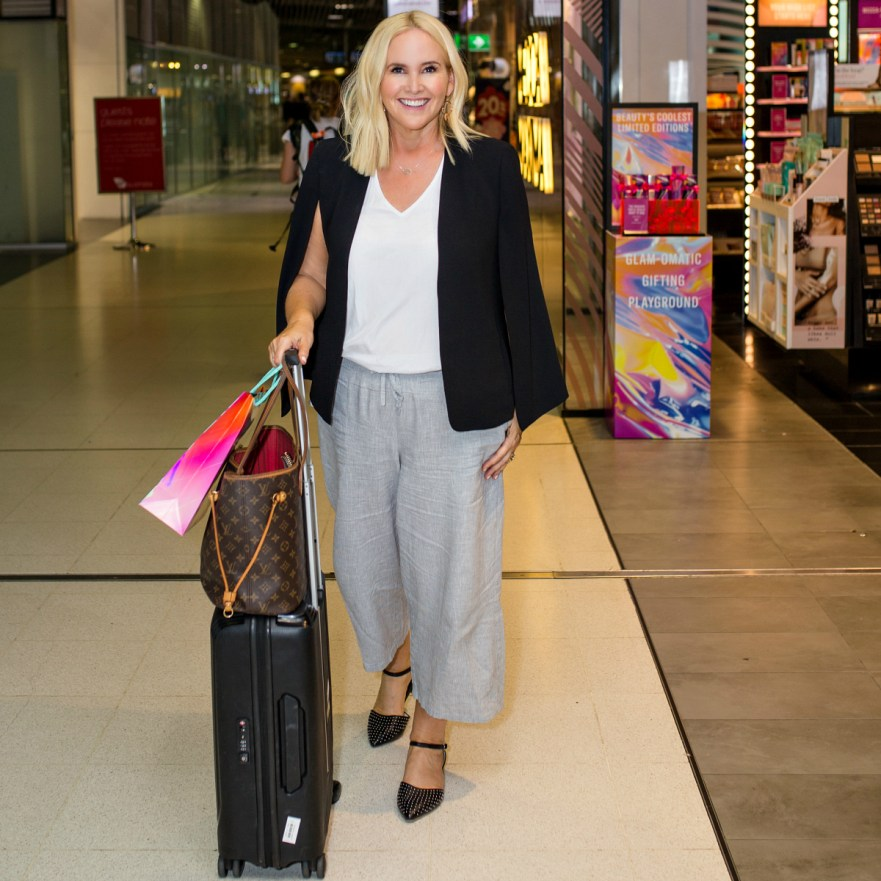 Inflight and travel beauty essentials Brisbane Airport Mecca Maxima