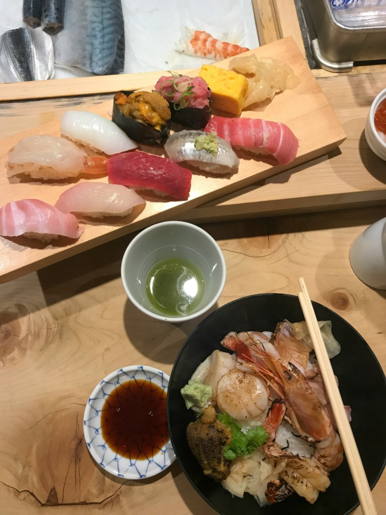 Lunch Tsukiji Outer Markets, Tokyo, Japan | 48 hours in Tokyo