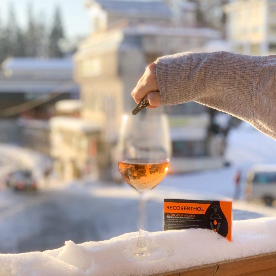 Recoverthol | apre ski | helps manage hangovers