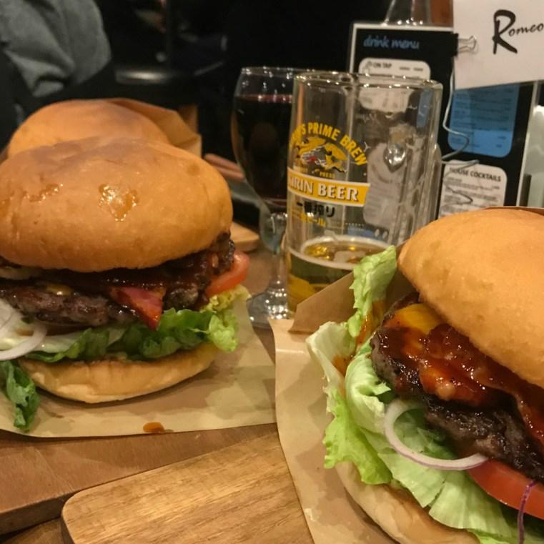 Unjaune burgers, Hakuba