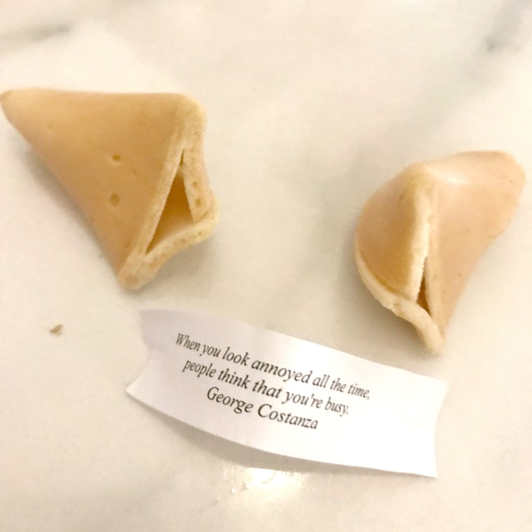 Donna Chang fortune cookie