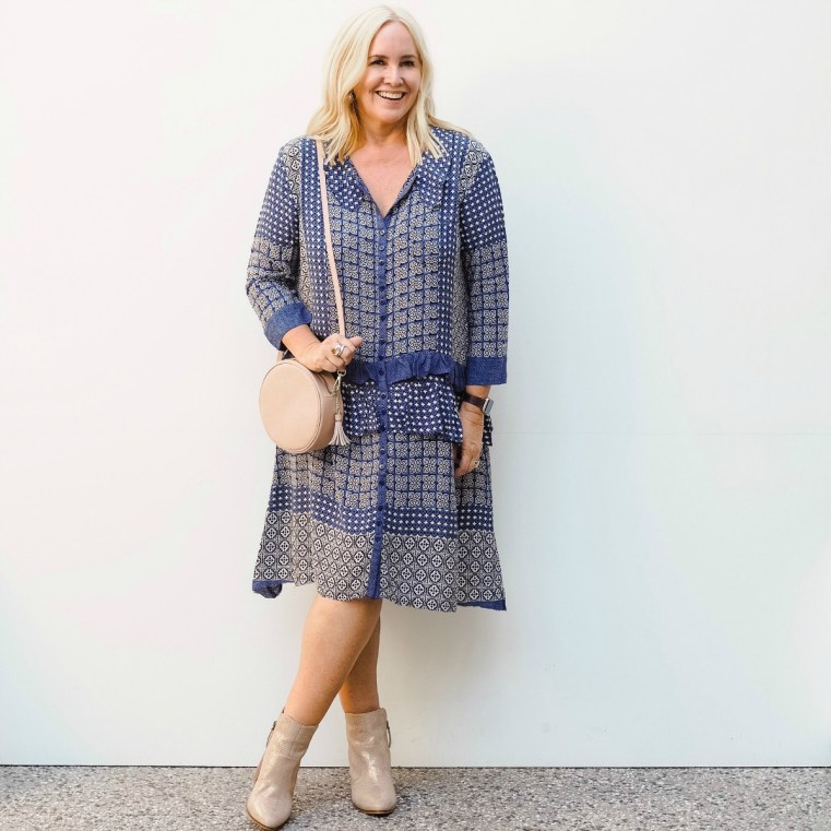 Solito dress | Miss Monogram bag | Uberkate rings | FRANKiE4 Footwear RUTH boots