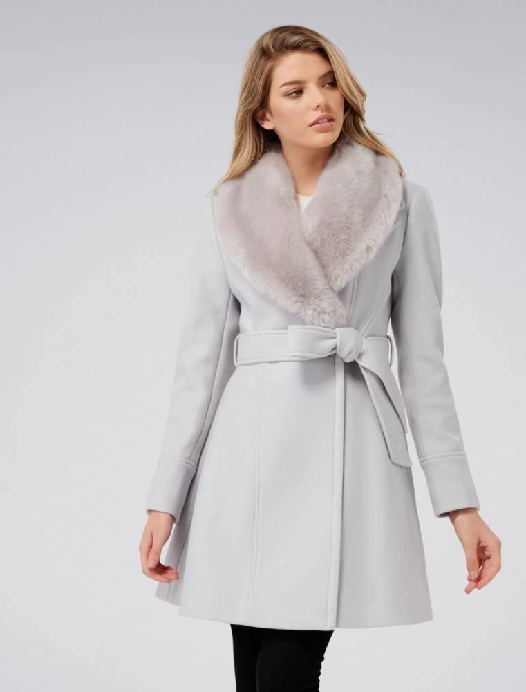 Forever New Emilia petite skirt coat