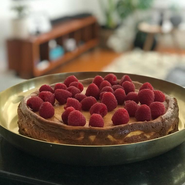 BabyMac cheesecake