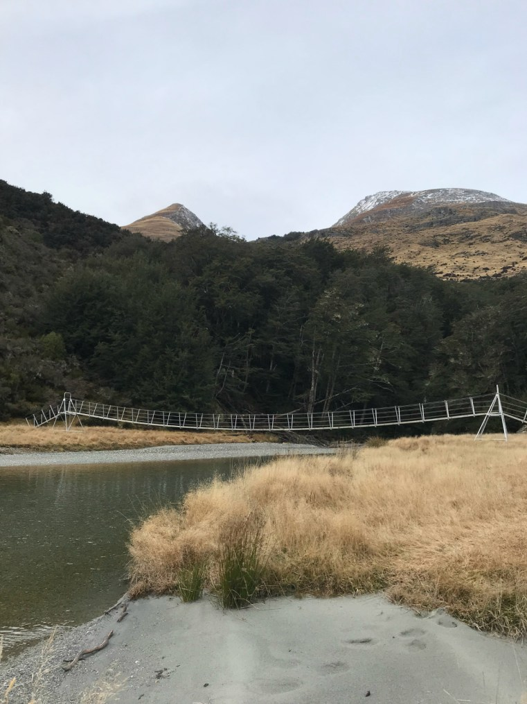 Footbridge | Twenty Five Mile Creek, Rees Valley, New Zealand