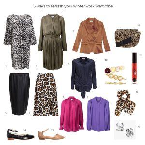 15 ways to refresh you winter work wardrobe