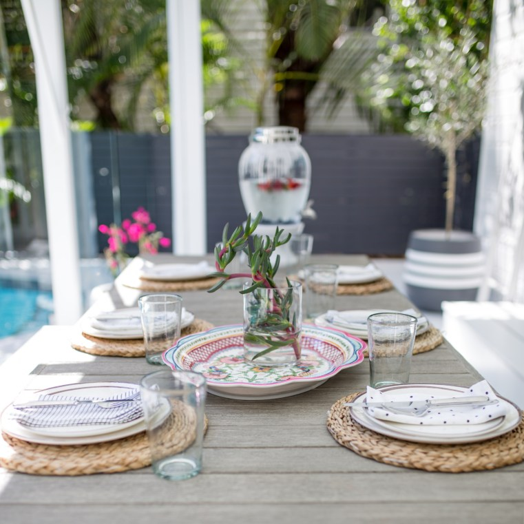 Pottery Barn Australia outdoor tableware