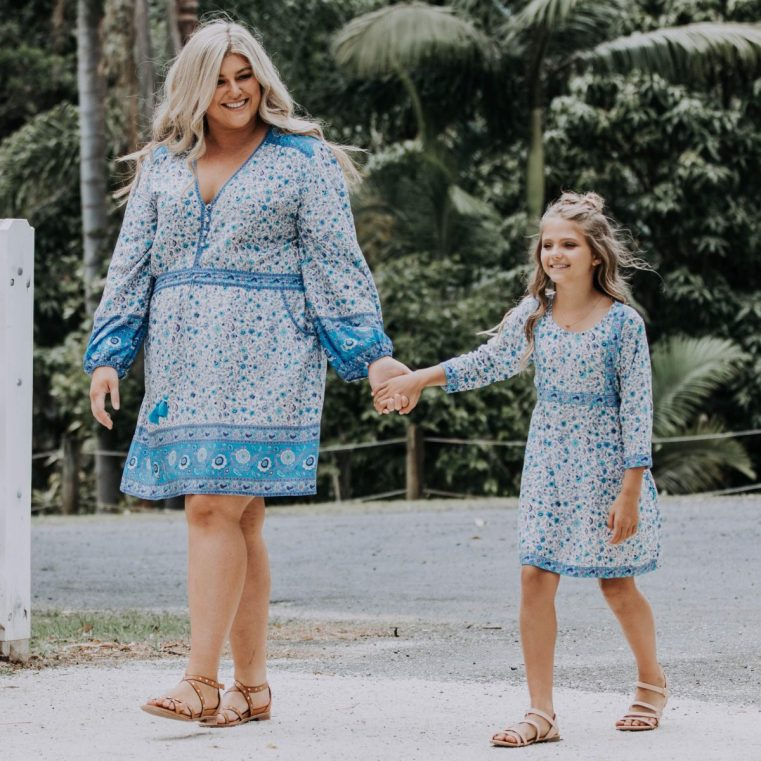 Ada and Lou Lacey dress