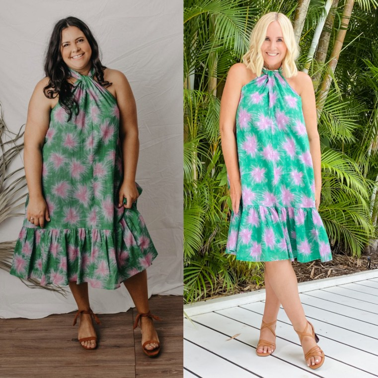 The Model and Me: Zarc Clothing Flora dress