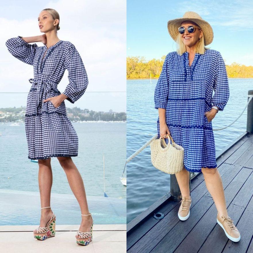 The Model and Me: Lola Australia Monroe Lake dress