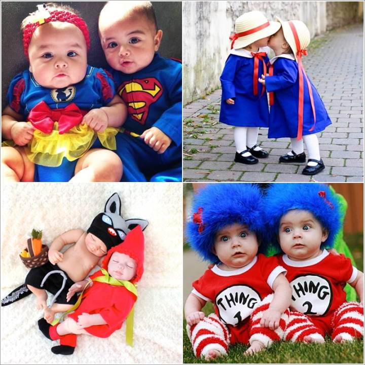 best twin baby halloween costumes wallsviews co