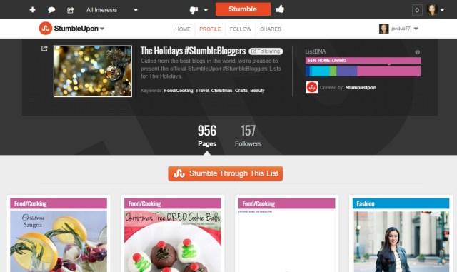 #stumblebloggers