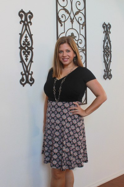 stitch fix december 2015 review Gilli Robbin Dress