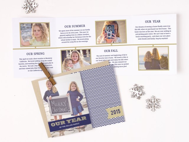 Celebrate with truly custom invitations from Basic Invite #holidays #holidaycards #basicinvite