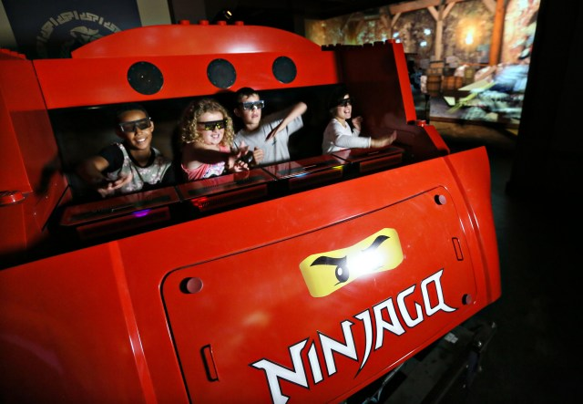 Ninjago Ride at Legoland California.(Photo by Sandy Huffaker/Legoland) #NinjagoWorld #LegolandCA #LegolandBlogger
